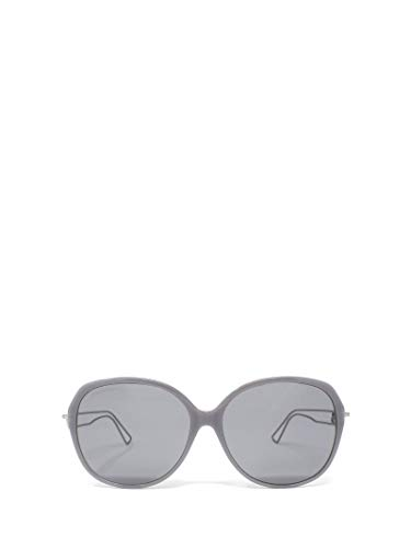 Luxury Fashion | Balenciaga Woman BB0058SK004 Grey Acetate Sunglasses | Season Permanent