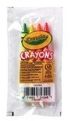 crayola 4 pack full size crayons party favors Bundle of 12-4 packs Mixed colors every 4 pack might be different includes glitter crayons neon colors Pastel colors and many more