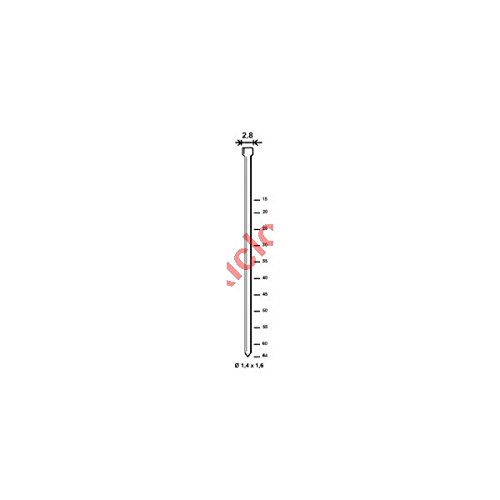 Spitzen TH Drahtstifte, 25 mm, verzinkt, 5000 Stück