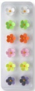 JEM Cutters Icing Flowers - 5-Petal - Colours - 12 pcs