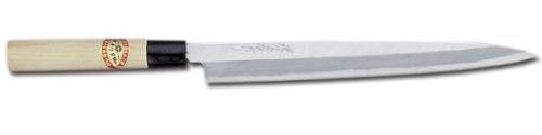 Sakai Takayuki Japanese Knife Kasumitogi Yasuki White Steel 06002 210mm Sashimi Knife