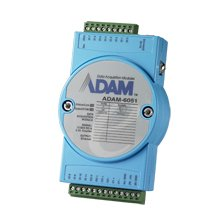 Adam Modules - Advantech ADAM-6051-D 14-ch Isolated Digital I/O Modbus TCP Module with 2-ch Counter - 1 x Network (RJ-45) - Fast Ethernet - 10/100Base-TX (Replacement of ADAM-6051-BE ADAM-6051-A)