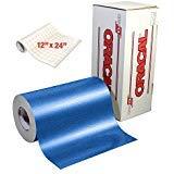 (ORACAL Blue Metallic Sparkle Premium Adhesive Craft Caste Vinyl 12