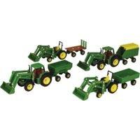 John Deere Tractor & Wagon (Wagon Curve Learning)