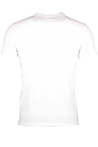 Corte Uomo Bianco shirt Maniche Twht M83i17j1300 T Guess Jeans xnYgZqXg