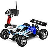 Ready to Run(RTR) Perfect gift for kid,Ready to Run Straight Out the Box No Assembly NeededSuperior Control Experience 4 Wheel Independent suspension system is adopted with a helical spring with high resilience for each wheel, which creates i...