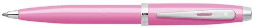 - Sheaffer 100 Glossy Pink / Nickel Trim Ballpoint