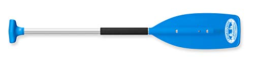 CROOKED CREEK C11455 5.5 5-1/2-foot Synthetic Boat Paddle, Blue-Features a Hybrid Grip for Full Palm Support and More Natural Motion (50453)