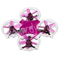 DYS ELF Ready-to-Fly 83mm Micro FPV Drone/Racer - Purple/Purple props