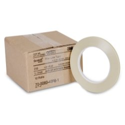 #218 FINE LINE MASK TAPE 1/4 (Green Scotch Lacquer Masking Tape)