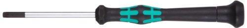 Wera 05118054003 Kraftform Micro 2067 Torx BO Electronics Precision Screwdriver, TX20 Head, 60mm Blade Length Bo Component