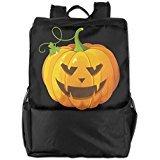 Show Time Halloween Pumpkin Multipurpose Backpack Travel Bag Shoulder Bags -