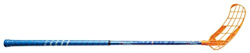 Salming OvalFusion 2018 OvalFusion Floorball Stick, 103 cm, Left, Navy/Orange by Salming