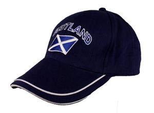 - Doleman Scotland Curved Flag Baseball Cap Navy