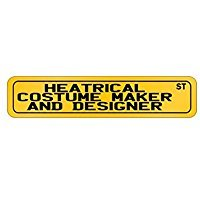 Wall Street Costume Designer (Heatrical Costume Maker And Designer Street - Occupations - Street Sign [ Decorative Crossing Sign Wall Plaque ])