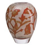 Kosta Boda Floating Flowers 5-7/8-Inch Vase, Small ()