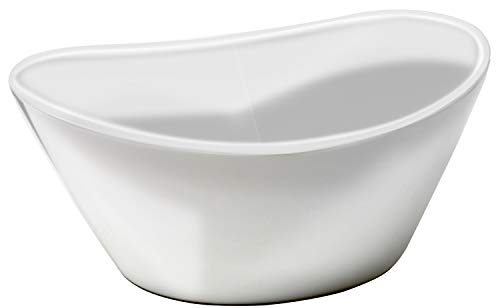 Over and Back Porcelain Bowl Set, 4-pack (Back And Sides Over)