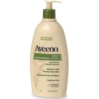 Aveeno daily moisturizing lotion with natural colloidal for Aveeno unscented lotion for tattoos