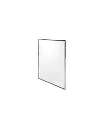 Timblau 02305E/S - Espejo fijo con marco en acero inoxidable ...