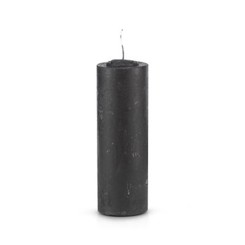 7 Day Black Refill Candle (No Glass)