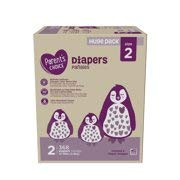 Parent's Choice Diapers, Size 2, 368 Diapers (Mega Box) (Pack of 5)