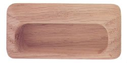Handle - Wood Flush Handle