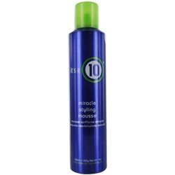 ITS A 10 MIRACLE STYLING MOUSSE 9 OZ UNISEX by It's a 10 (A 10 Mousse Styling Miracle Its)