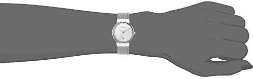 Skagen damen armbanduhr analog quarz edelstahl 355sss1