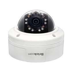 Brickcom VD-501AF 5MP HDTV F=6MM TRIPLE CODEC POE IP67 IK10 4-WAY AUDIO DI/DO.IR