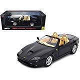 Maisto Hot wheels Ferrari 550 Barchetta Pininfarina Black Elite Edition 1/18 Model Car by Hotwheels