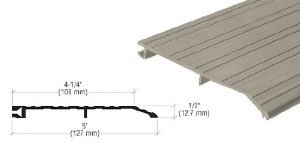 CRL Bronze 5'' x 1/2'' Offset 36-1/2'' Long Saddle Threshold - 255D36 by CRL