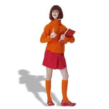 Rubie's Costume Scooby-Doo Deluxe Adult Velma Costume, VELMA, Standard Size ()