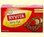 Ryvita Crispbread Dark Rye -- 8.8 oz