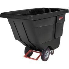 Rubbermaid Commercial Products Utility Duty Tilt Truck, 33-1/2