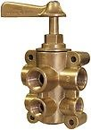 NEW GROCO FUEL VALVE 6 PORT GRO FV65038