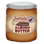 Justins Nut Butter 30463 Justins Classic Natural Almond Butter - 6x16 Oz