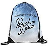 Namii Panic Disco Sports Bag Drawstring White Size One Size For Sale