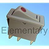 Dimplex Type Storage Heater XL9147 Switch With Neon 16A 250V For CXL CXT Heaters Elementary Limited
