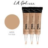 pro concealer pure beige - L.A. Girl Pro Conceal HD 976 Pure Beige (6 Pack)