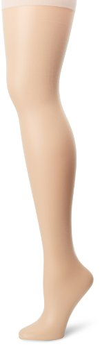 Hanes Silk Reflections Women's Plus-Size Absolutely Ultra Sheer Control Top with Reinforced Toe, Pearl, Petite