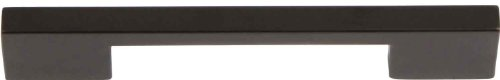 Atlas Homewares A867-BL Successi Collection 6.13-Inch Thin Square Pull, Matte Black