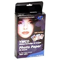 Photo Paper Pack 4 x 6 for HiTi Photo Printer 630PL/ 630PS/ Photoshuttle/ 640PS/ Transphotable