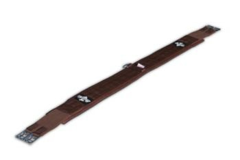 Professionals Choice Equine Smx English Girth (Size 50-Inch, Brown)