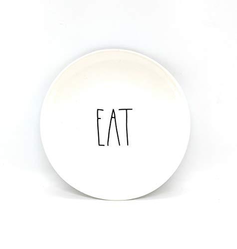 Rae Dunn by Magenta Ceramic Salad Appetizer Dessert 6 inch Small Plates