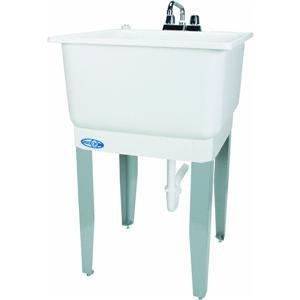 Mustee 14CP Utilatub Combo Laundry/Utility Tub