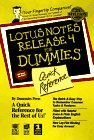 img - for Lotus Notes Release 4 for Dummies Quick Reference book / textbook / text book