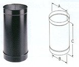 6 inch single wall stove pipe - 9