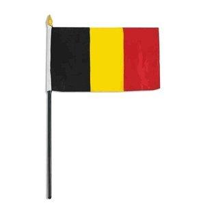 Belgium flag 4 x 6 inch (1) - Online Belgium