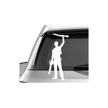 Ash williams the evil dead silhouette car truck window laptop tablet vinyl cut decal sticker
