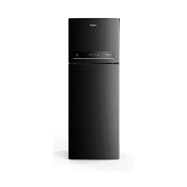 Whirlpool 265 L 3 Star Inverter Frost-Free Double Door Refrigerator (INTELLIFRESH INV CNV 278 3S, Black Sparkle… 2021 August Important note : This product is 4-star rated as per 2019 BEE rating and 3-star rated as per 2020 BEE rating Frost-free refrigerator; 265 litres capacity. Pedestal : No Energy Rating: 3 Star
